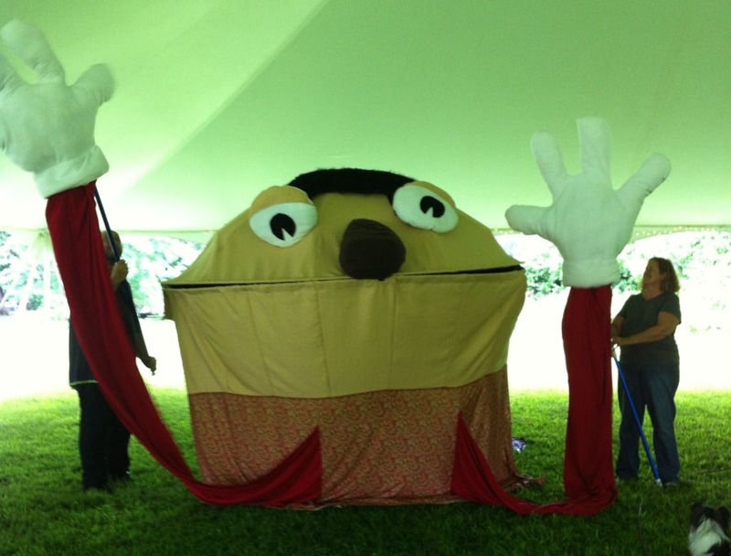 Goofus, the Giant Puppet Head