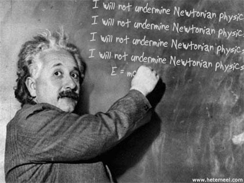 Einstein Bart